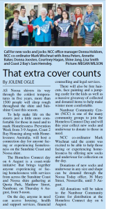 Noosa News article - 16 July 2015