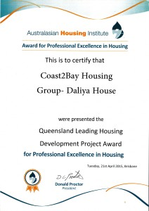 AHI Daliya House Award 2014